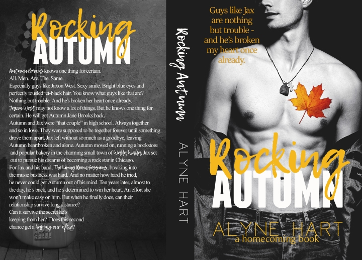 Rocking Autumn has gotten a Book Make-Over